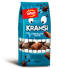 Load image into Gallery viewer, Oho Breakfast Cereal Kramsi Chocolate Fills 175gm