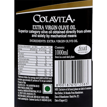 Load image into Gallery viewer, Colavita Extra Virgin Olive Oil 1lt