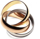 image_of_14k_Gold_Interlocked_Tri-Colored_Rolling_Ring_Band_shop_at_1oakJewelry.com