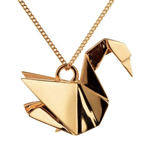 image_of_14k_Gold_Japanese_Origami_Swan_Necklace_Pendant_Gift_shop_at_1oakJewelry.com