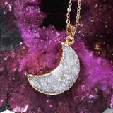 image-of-24k-Gold-Crescent-Half-Moon-Druzy-Statement-Necklace-Pendant-shop-at-1oakJewelry.com