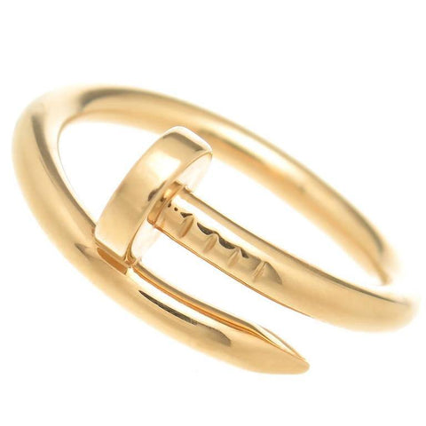 Men's 18k Gold Nail Stacking Ring