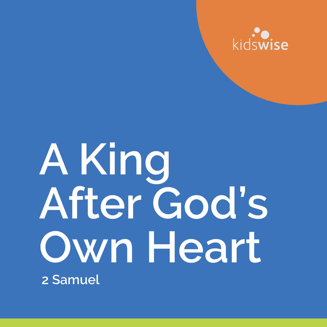 A King After God's Own Heart - 9 Lessons