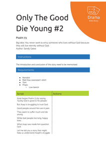 Only The Good Die Young #2
