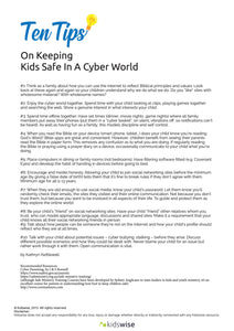 Ten Tips On Keeping Kids Safe In A Cyber World