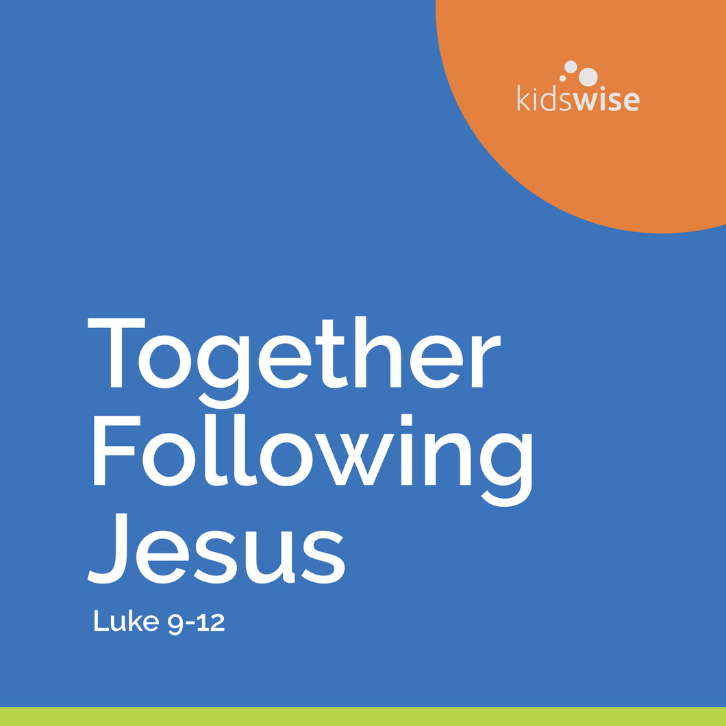 Together Following Jesus - 9 Lessons