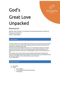 God's Great Love Unpacked