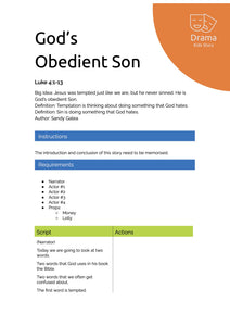 God's Obedient Son