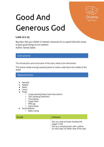 Good And Generous God