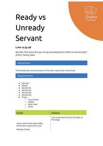 Ready vs Unready Servant