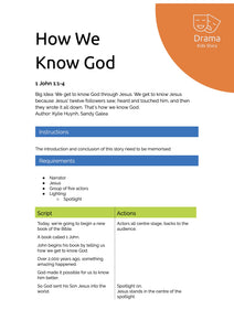 How We Know God