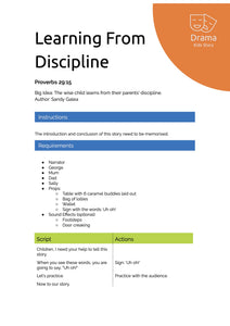 Learning From Discipline
