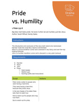 Load image into Gallery viewer, Pride vs. Humility