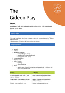The Gideon Play