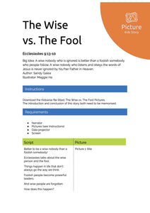 The Wise vs. The Fool