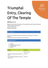 Load image into Gallery viewer, Triumphal Entry, Clearing Of The Temple