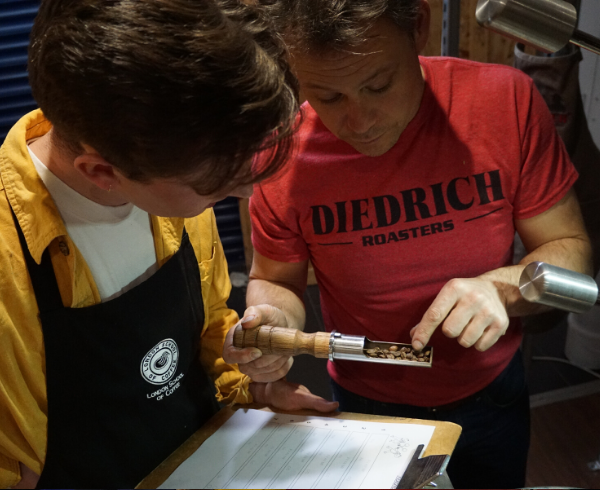 Diedrich Profiling and Roastery Set Up