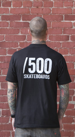 "/500 Skateboards  <BR><span class='subtitle'>""Classic Tee""</span>"