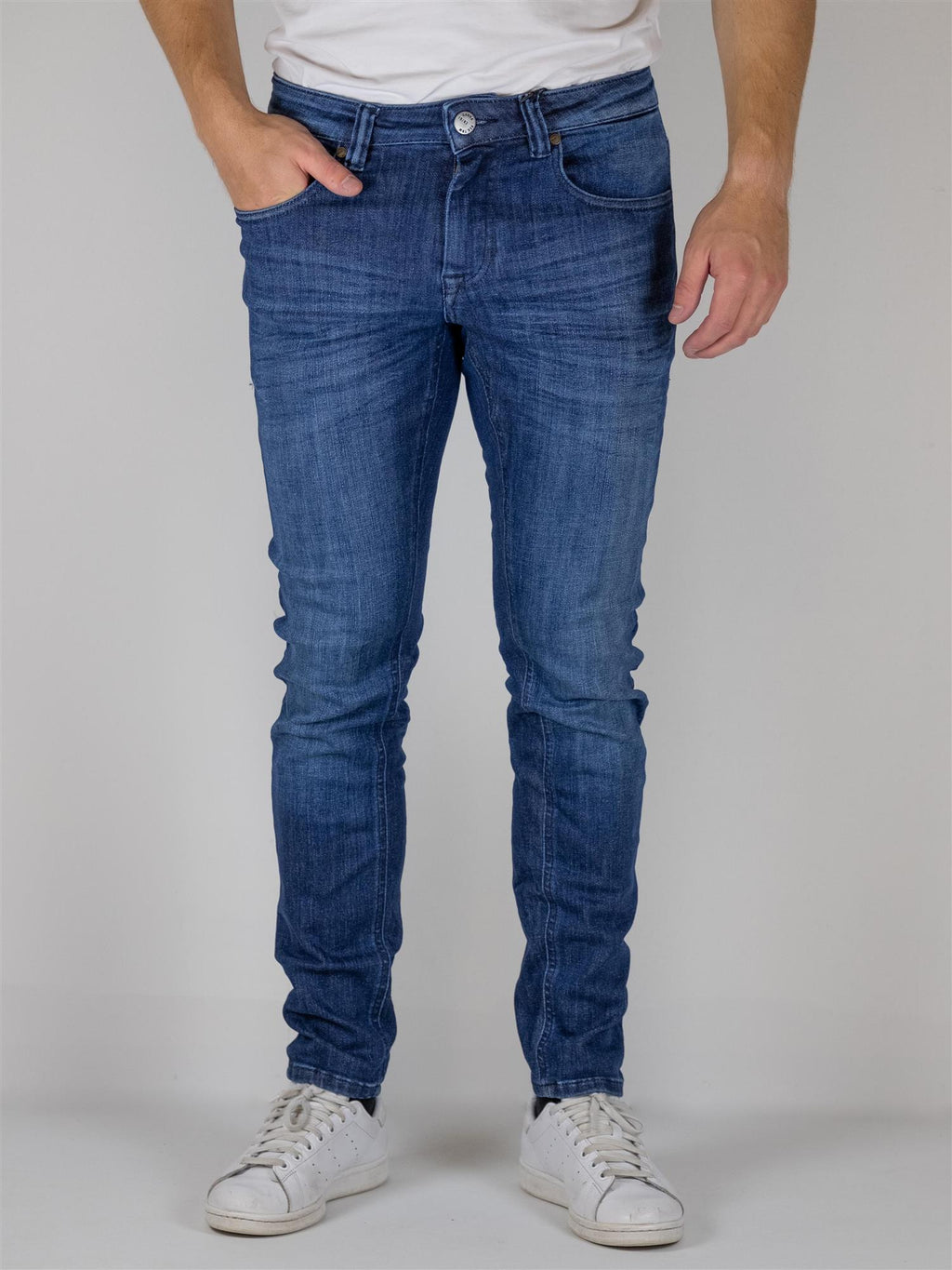 Jones Flex Jeans K3412 - Medium Blue Denim