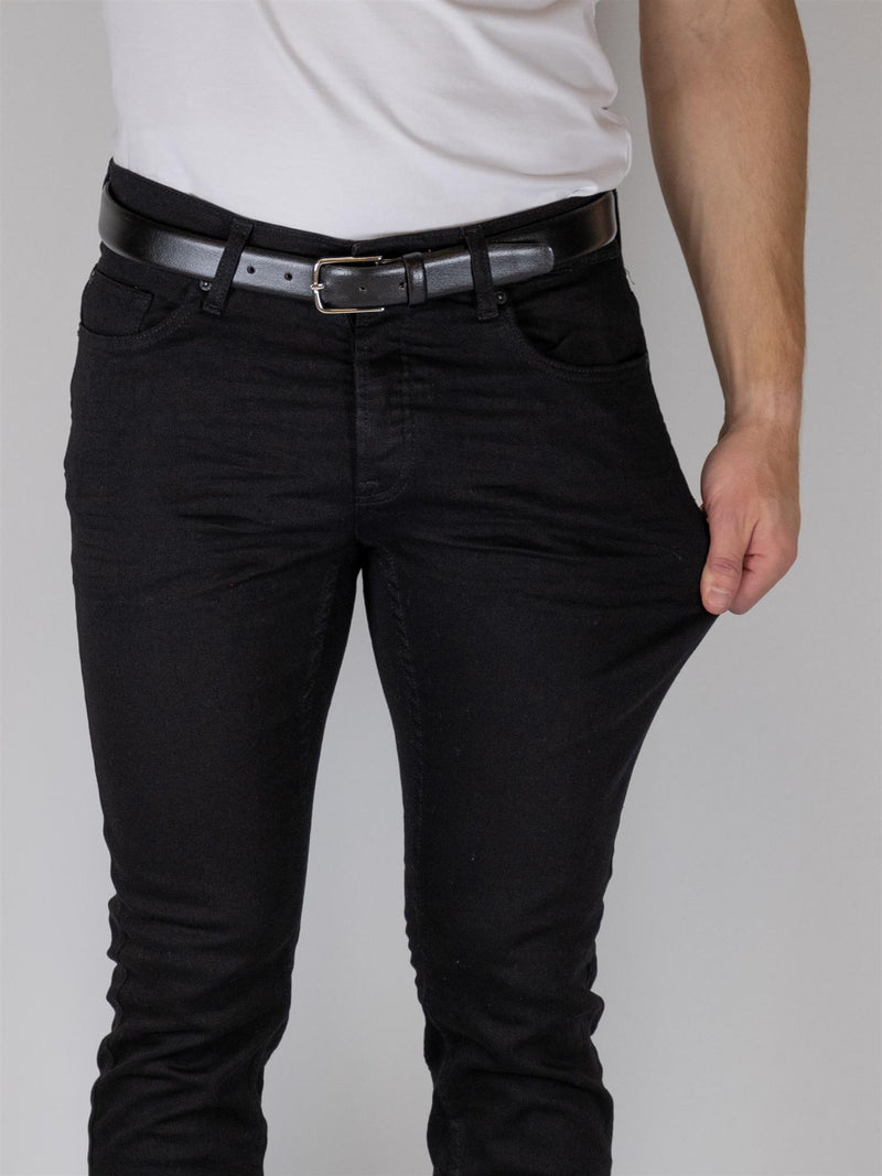LOOM Flex Jeans Slim 0448 - Black Denim