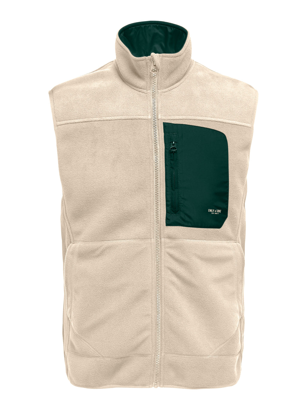 Hike Fleece Vest - Brazzilian Sand