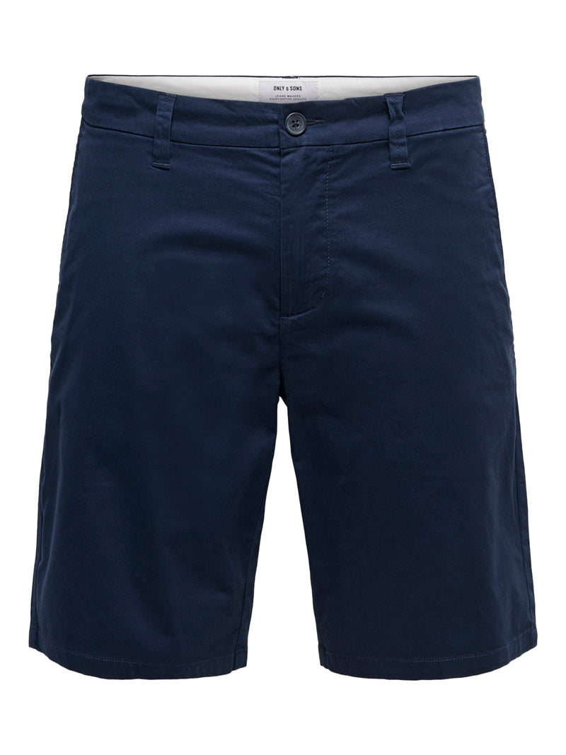 Cam Chino Shorts  6887 - Dress Blues - Dress Blues