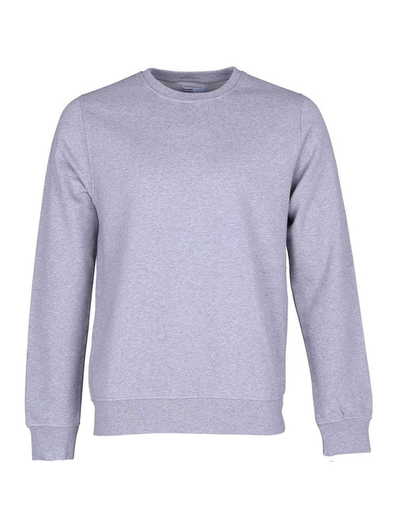 Classic Organic Crewneck - Heather Grey
