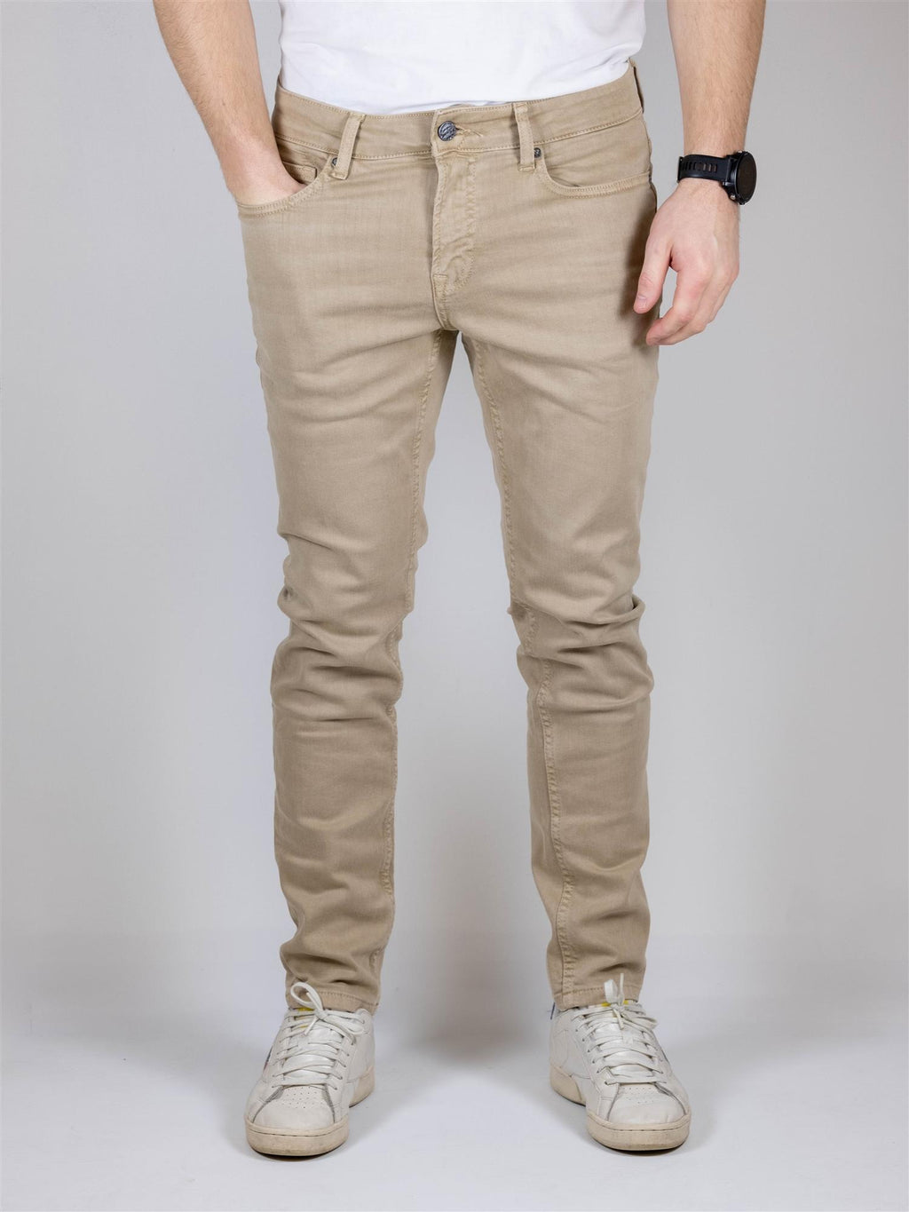 LOOM Flex Jeans Slim Twill 9197 - Chinchilla