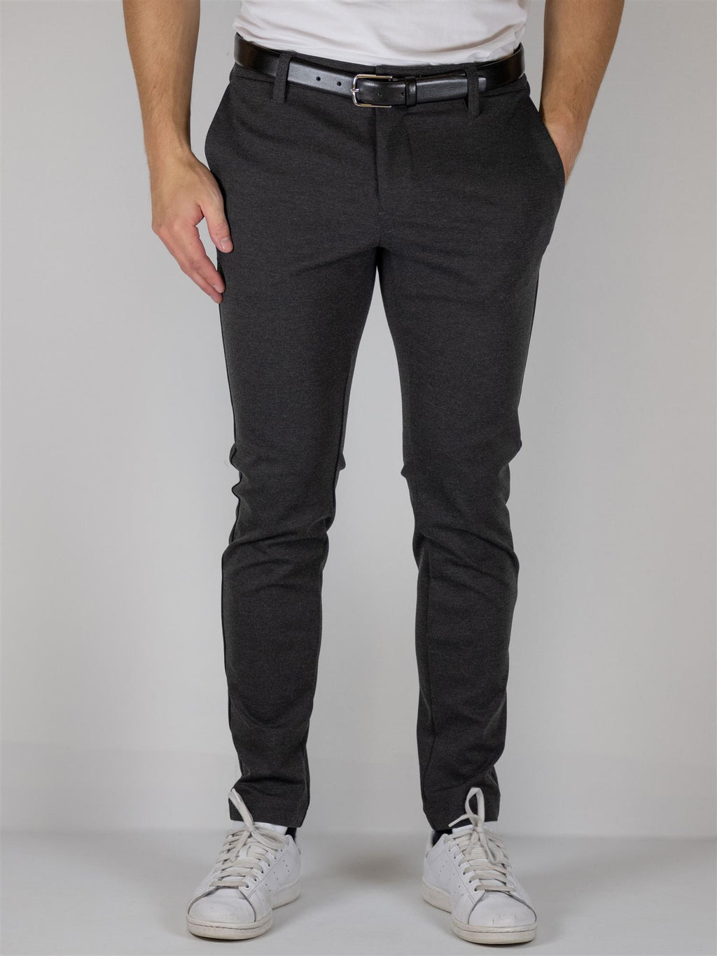 Burch Flex pant - Dark Grey Raven