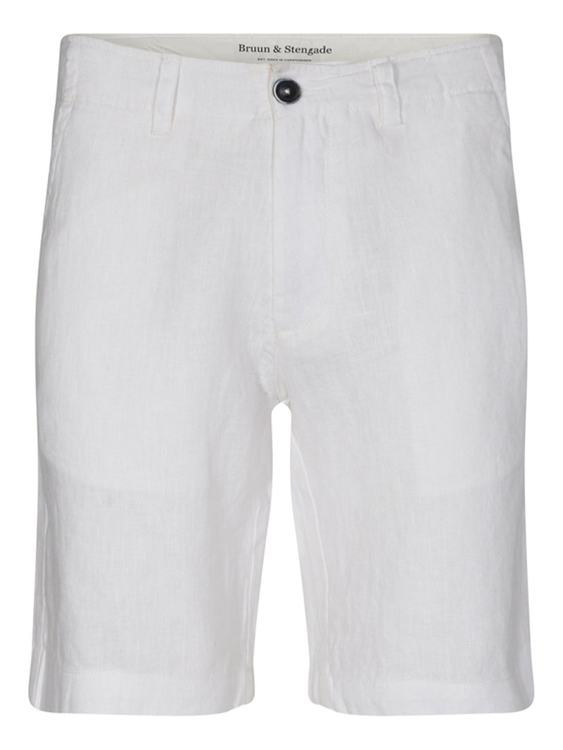 Mosby Lin Shorts - White