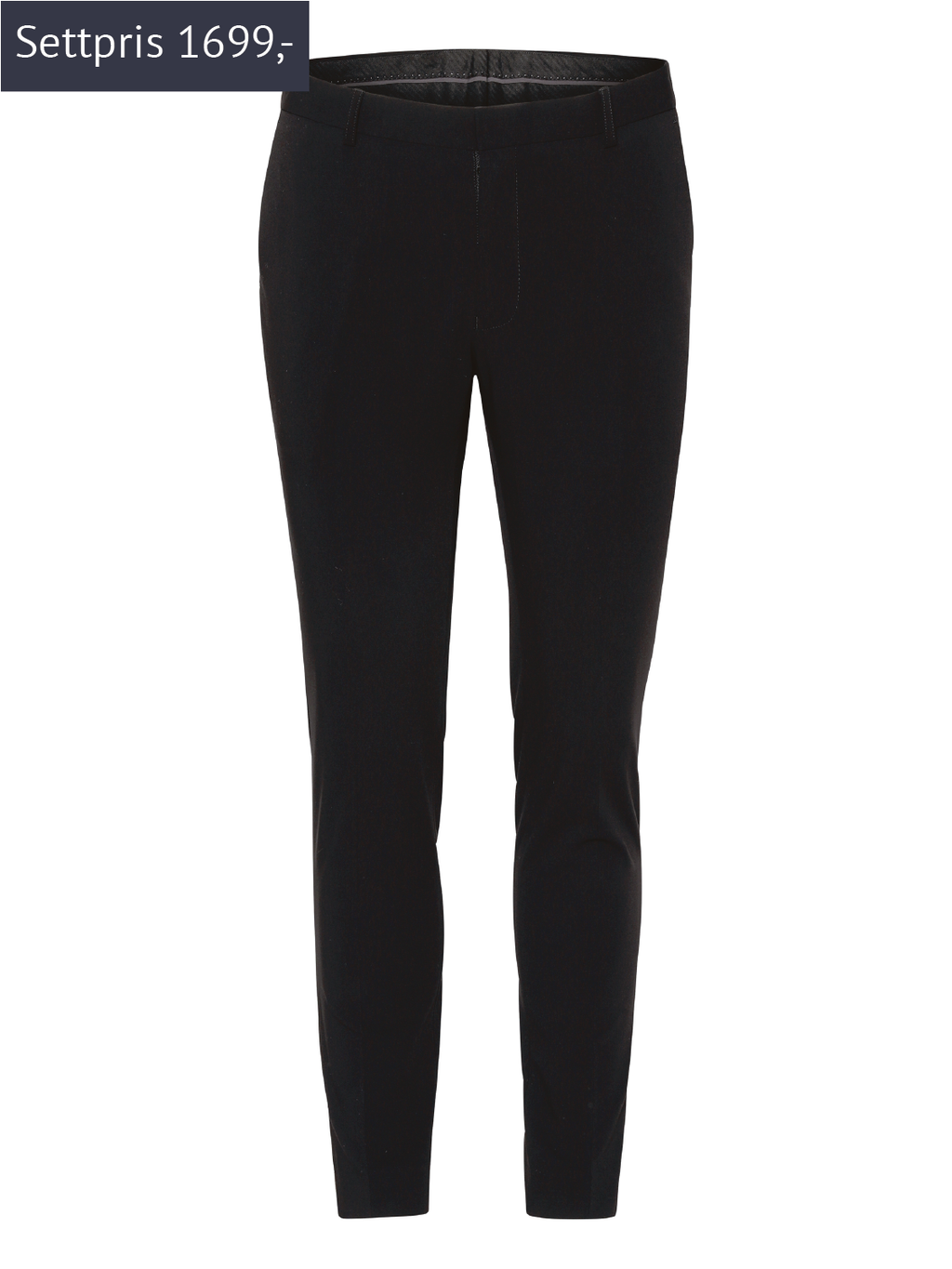 Francis dressbukse m/ Stretch - Black