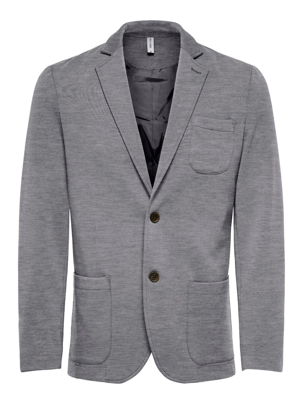 Mark Blazer - 5852 Medium Grey Melange