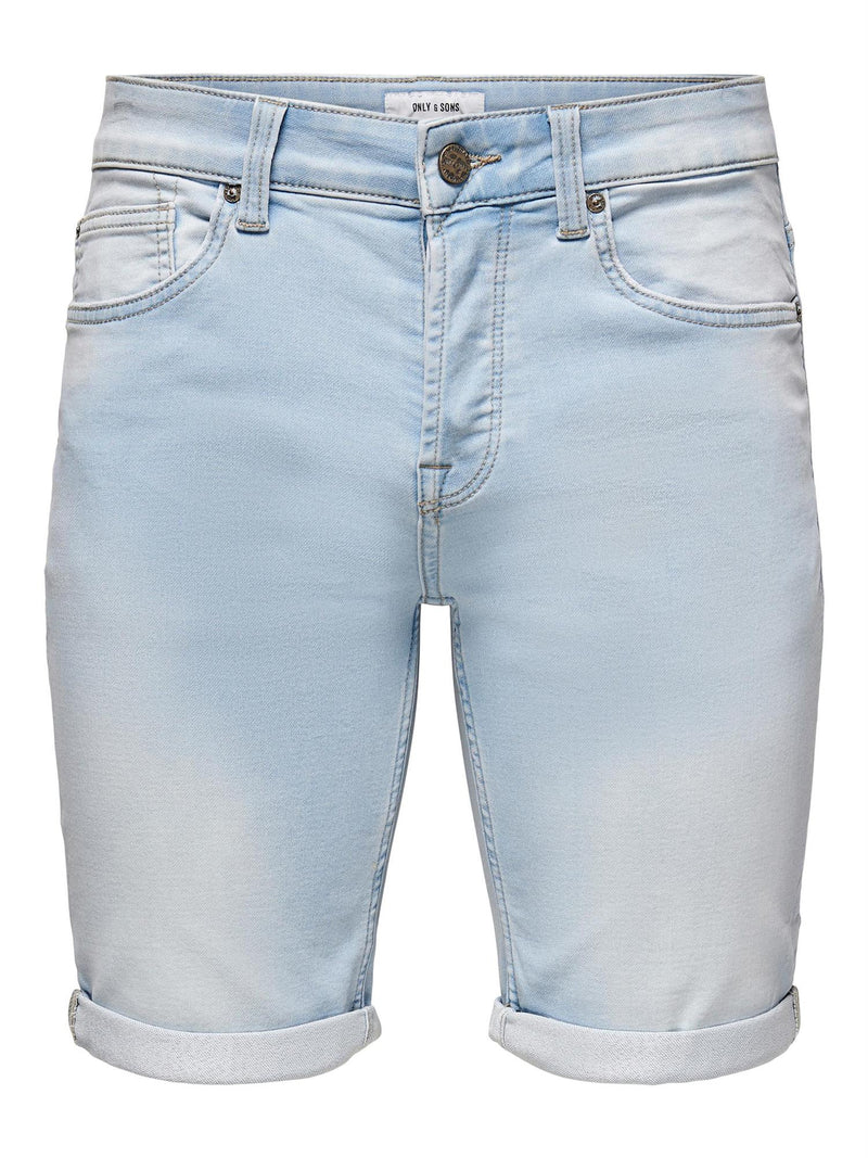 Ply Flex Shorts 8587 - Blue Denim