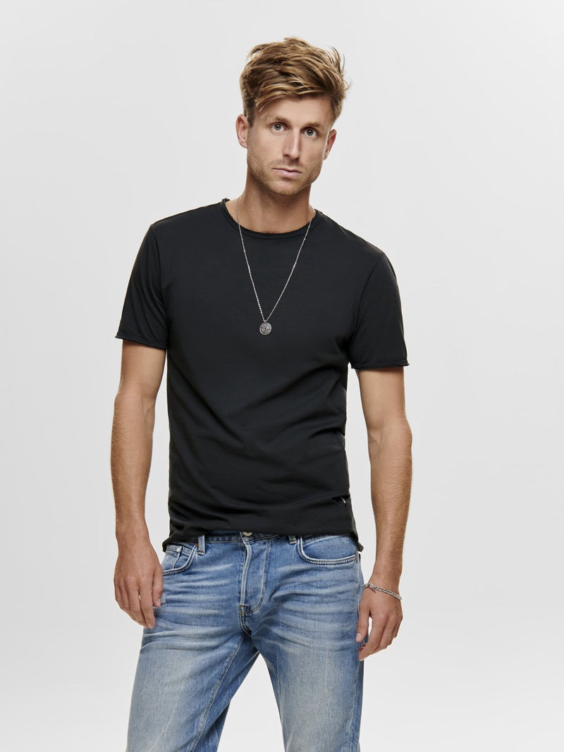 Albert T-Skjorte - Washed Black