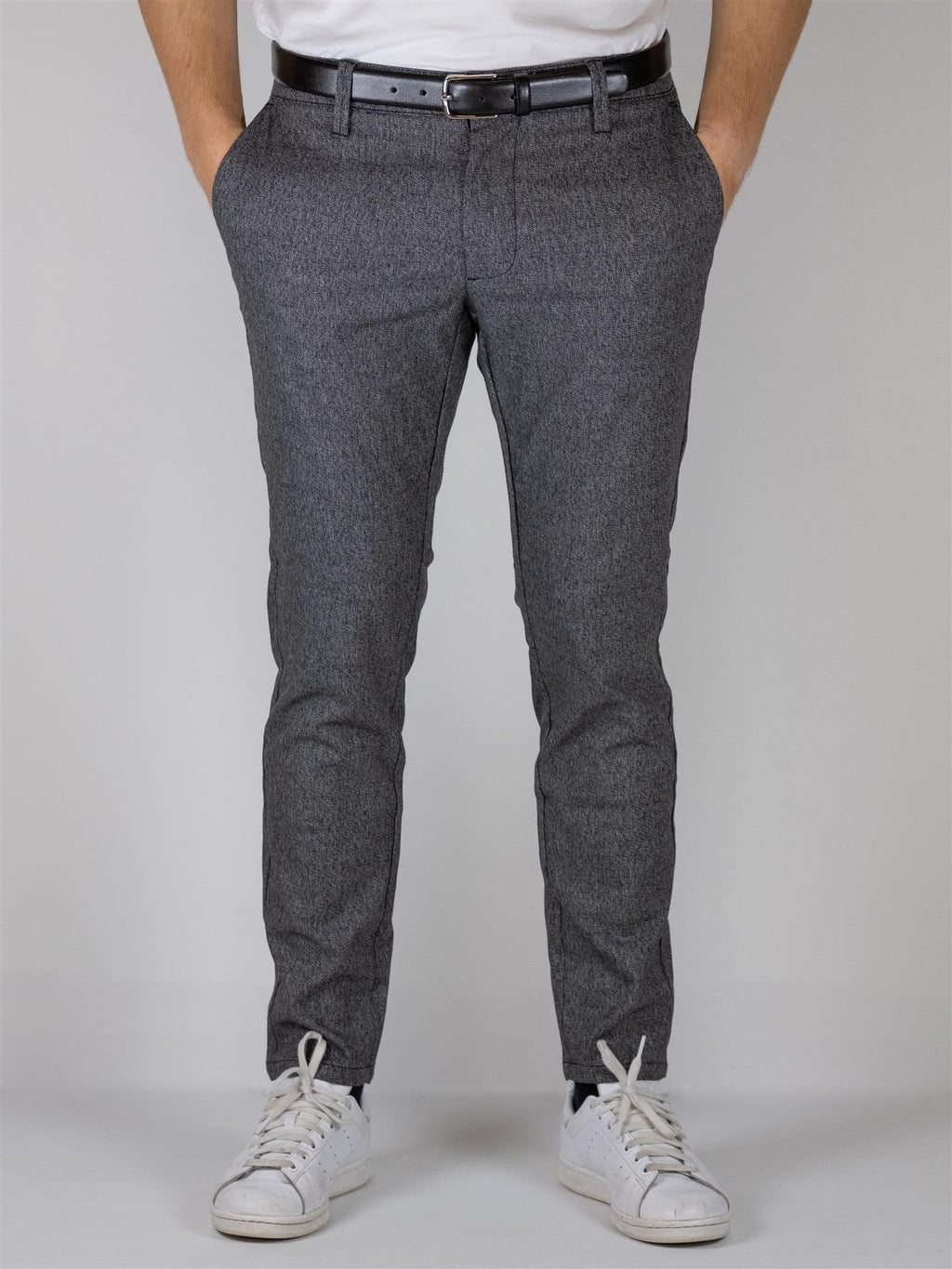 Mark Flex pant 3935 - Medium Grey Melange