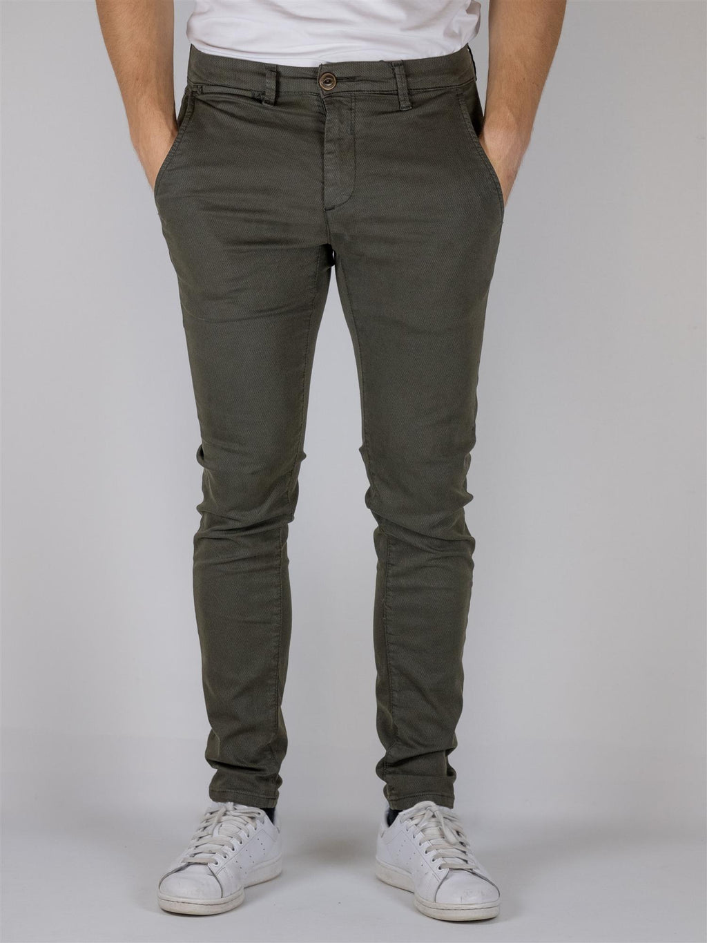 Paul Basic+ Flex Chino K3280 - Army