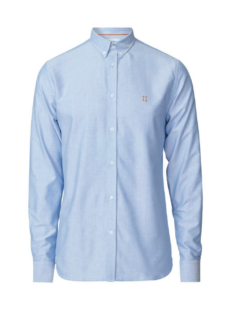 Oliver Oxford Skjorte - Light Blue