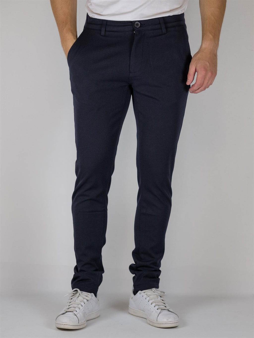 Frederic Basic+ Flex pant - Navy