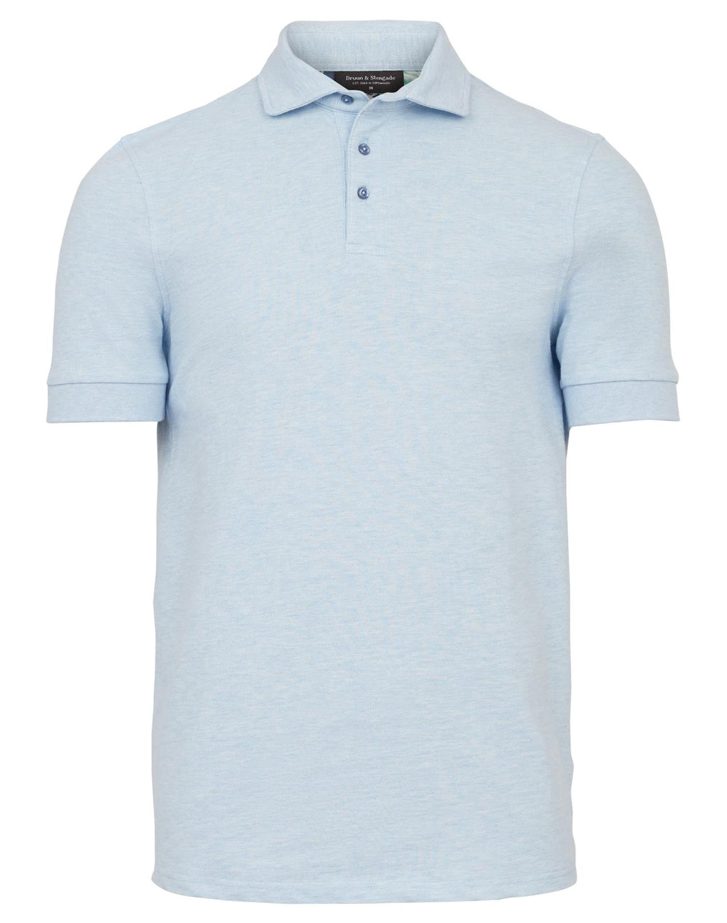 Prince Pique Polo - Light Blue