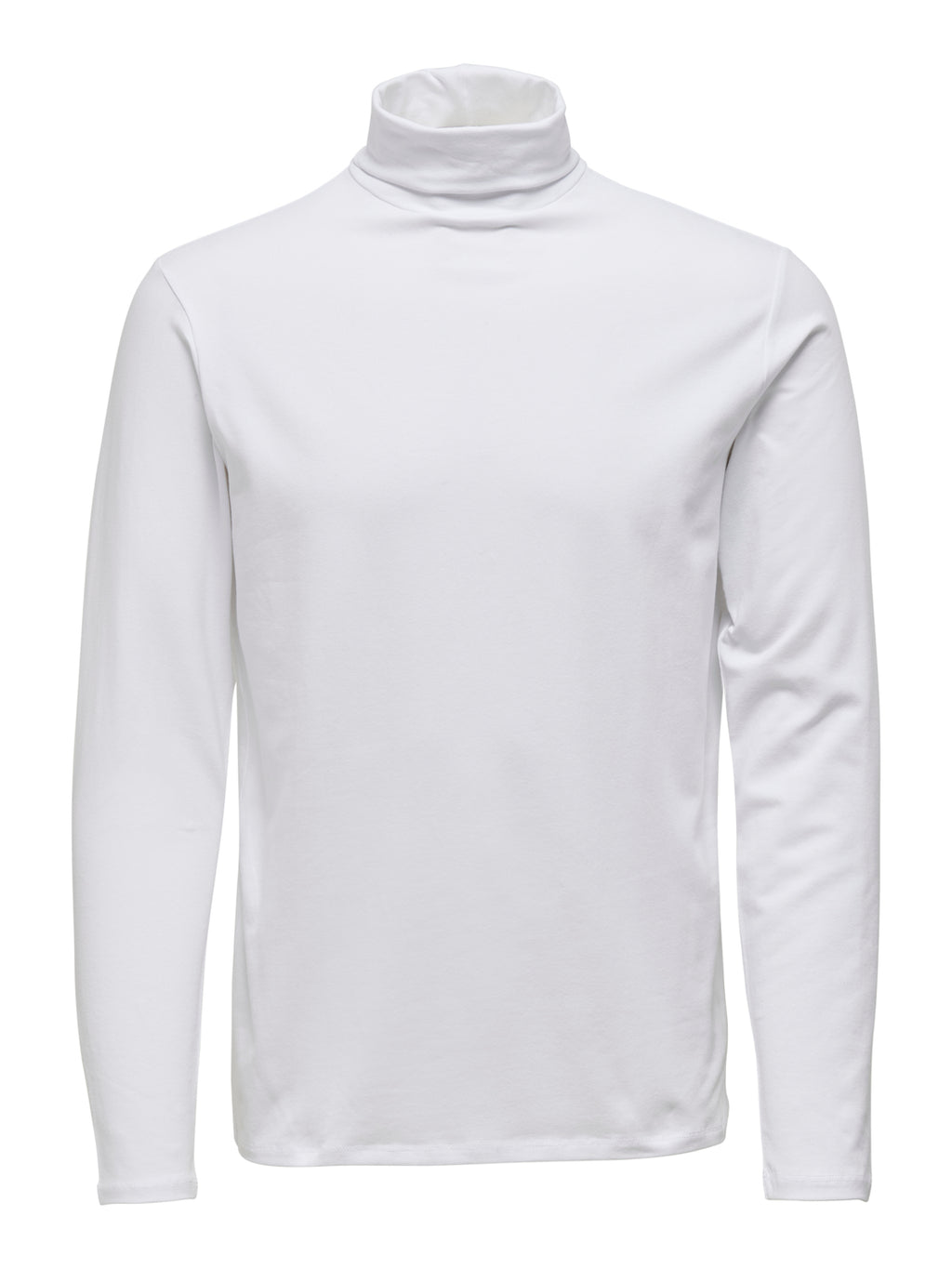 Lasse Polo Genser  m/Stretch - White