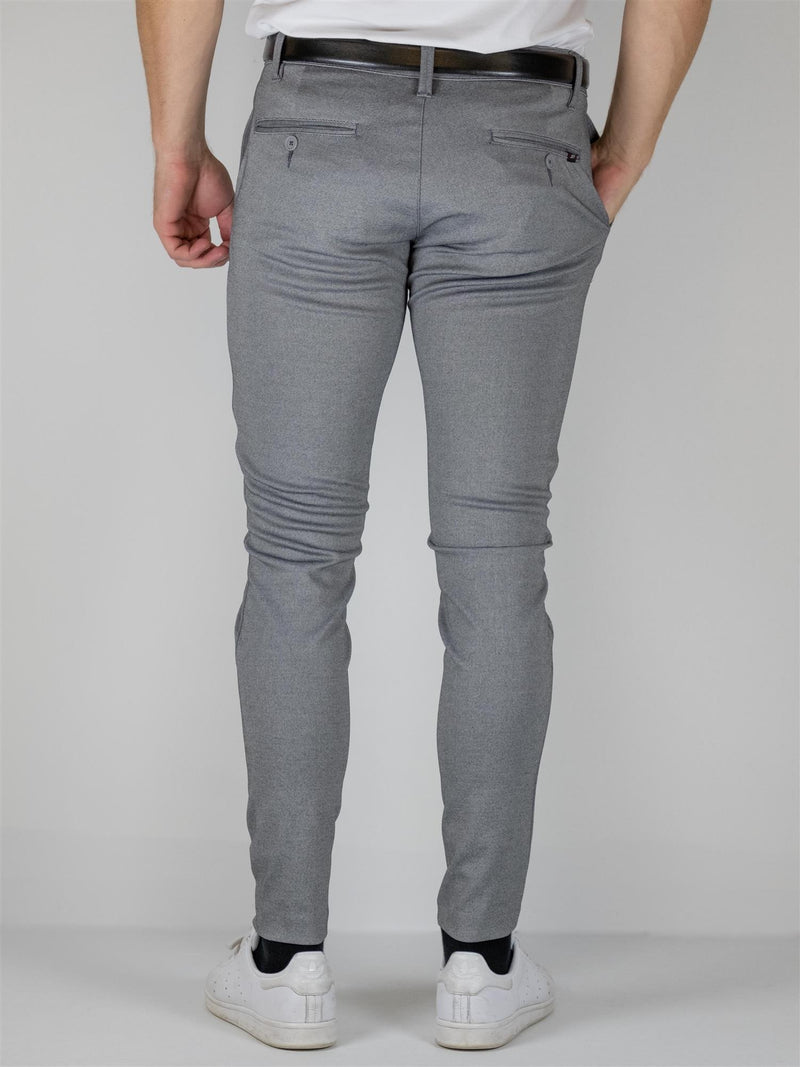 Burch Flex pant - Grey Melange