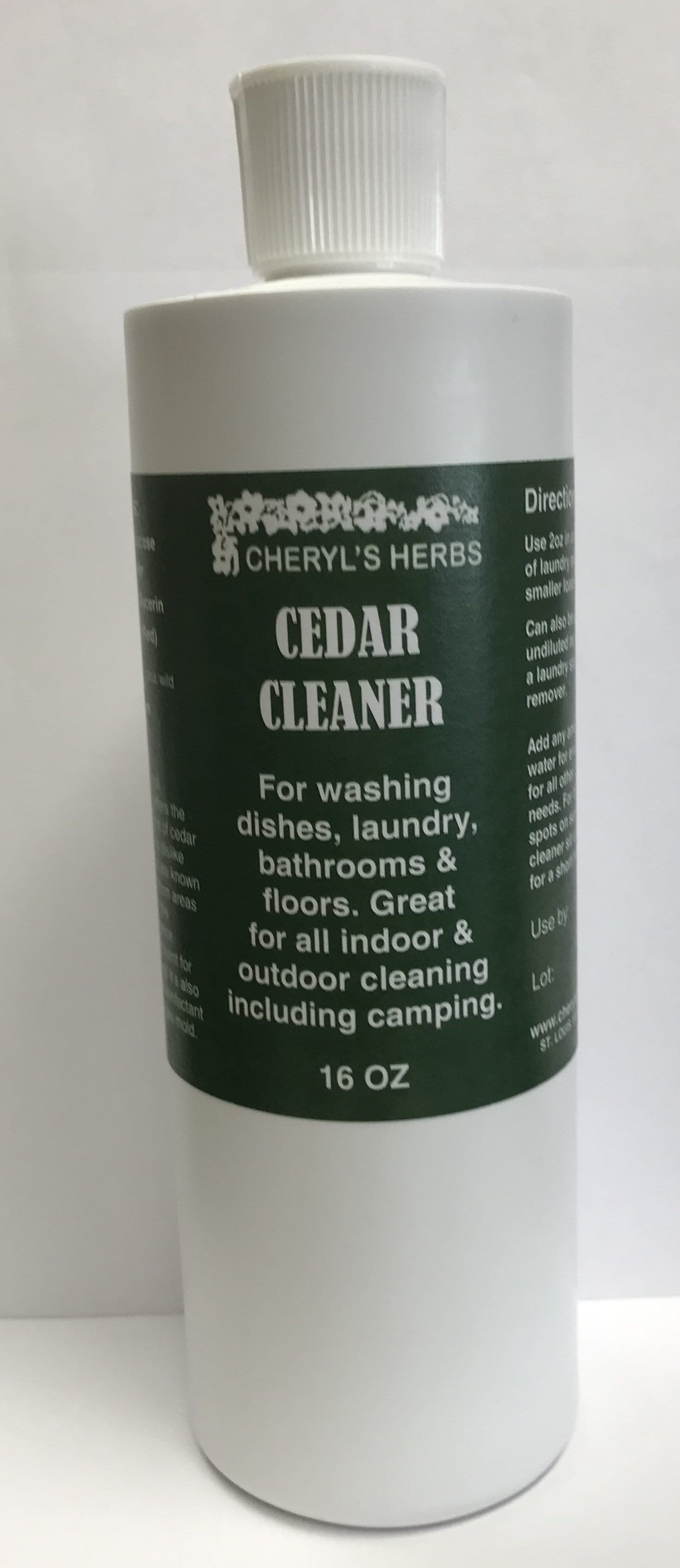 CEDAR CLEANER HOUSEHOLD SOAP - Cheryls Herbs