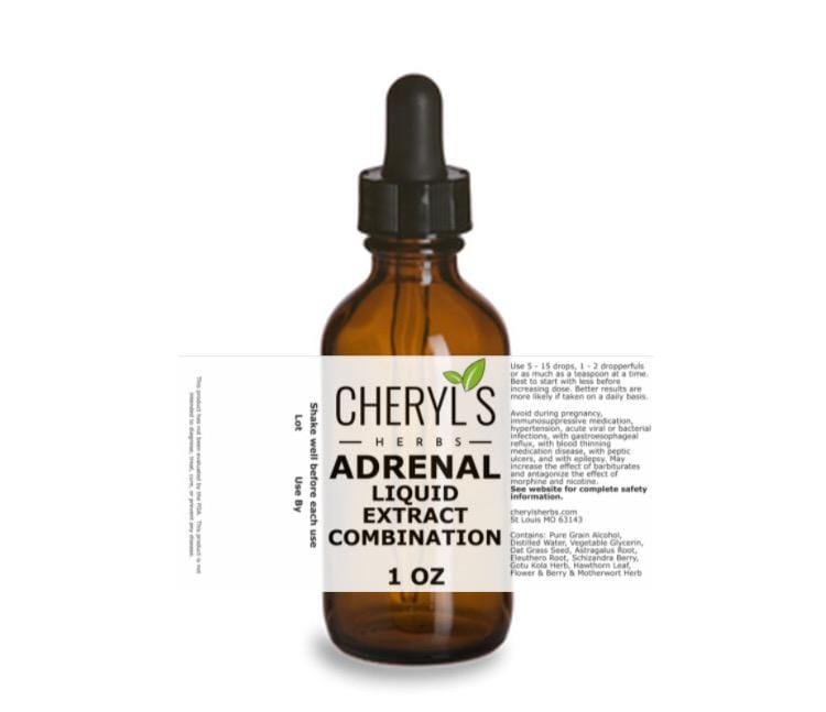 ADRENAL LIQUID EXTRACT COMBINATION - Cheryls Herbs