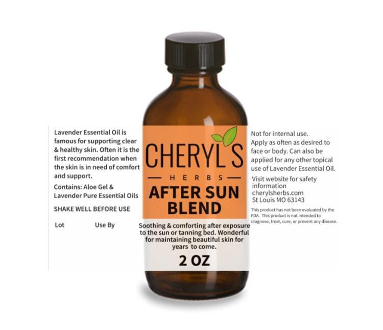 AFTER SUN BLEND - Cheryls Herbs