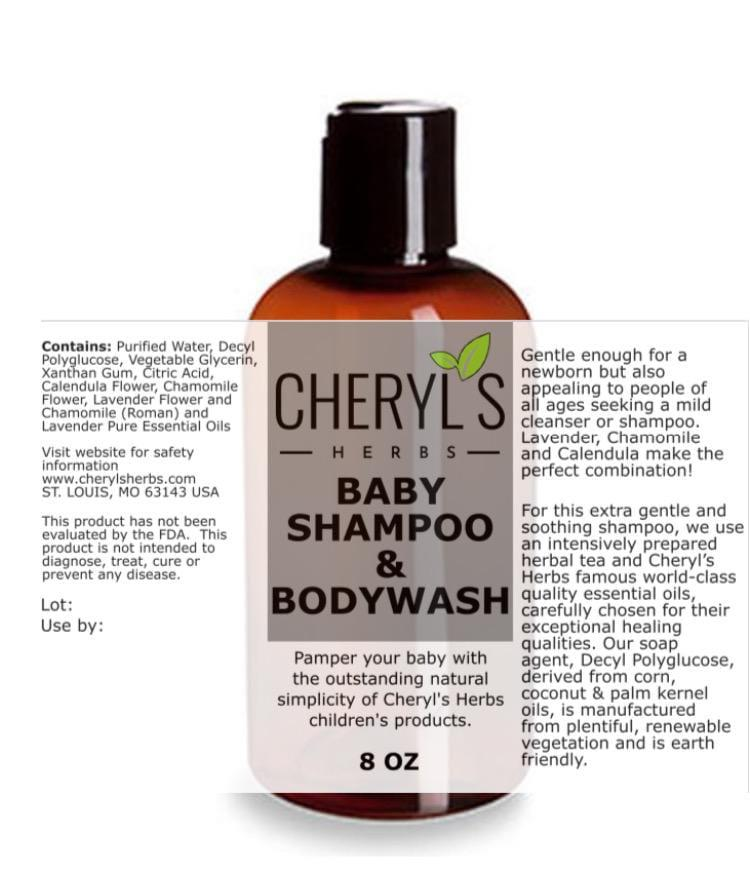 BABY SOAP AND BODYWASH - Cheryls Herbs