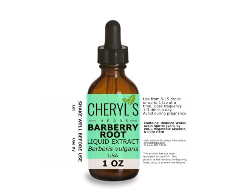 BARBERRY ROOT LIQUID EXTRACT - Cheryls Herbs