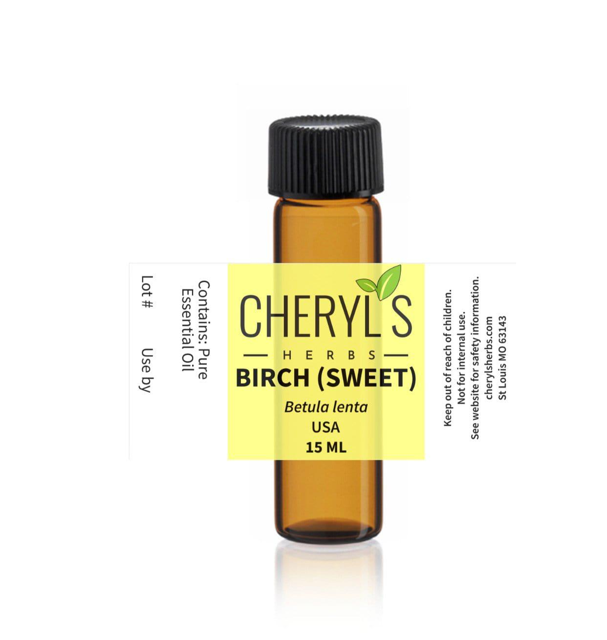 BIRCH SWEET ESSENTIAL OIL - Cheryls Herbs