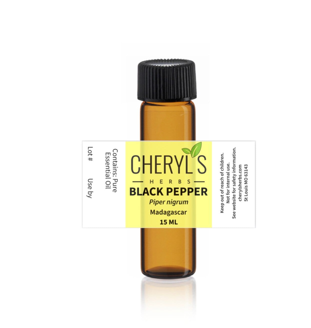 BLACK PEPPER ESSENTIAL OIL - Cheryls Herbs