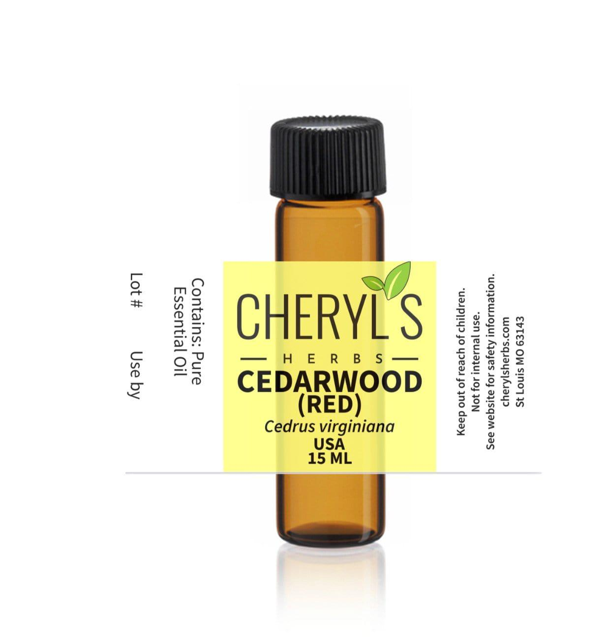 CEDARWOOD RED ESSENTIAL OIL - Cheryls Herbs