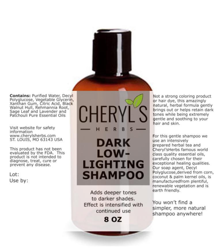 DARK LOWLIGHTING SHAMPOO - Cheryls Herbs